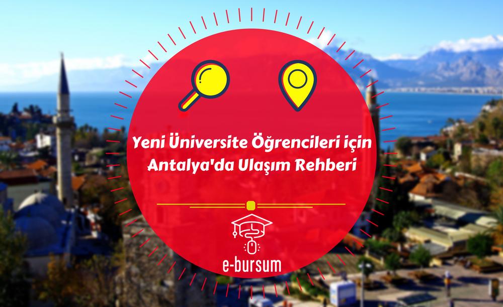 Yeni Üniversite Öğrencileri için Antalya'da Toplu Ulaşım Rehberi